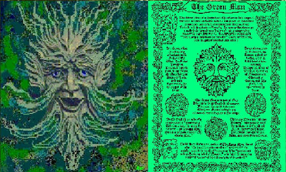To Path of Life Gallery: The Green Man