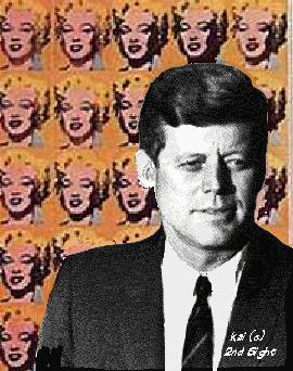 JFK and Marilyn: Together at Last